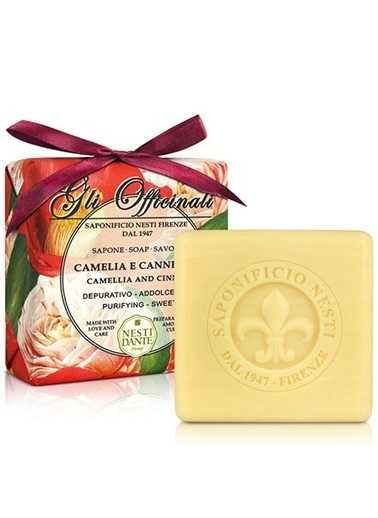 Nestidante Glı Offıcınalı Camellıa E Cannella Sabun 200 Gr Renksiz